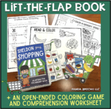 Sheldon Goes Shopping:  An Interactive & Adaptive Book