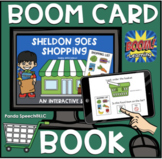 Sheldon Goes Shopping Boom Book (Boom Card Activity)