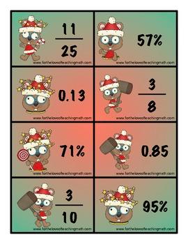 Shelf Elf Whack a Fraction Decimal Percent
