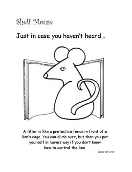 """Shelf Mouse - """"Just in Case You Haven't Heard"""" Set 7 - Posters on """"The Internet"""""""