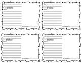 Shelf Talker Book Recommendation Form