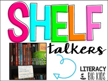 Shelf Talkers for Class Libraries
