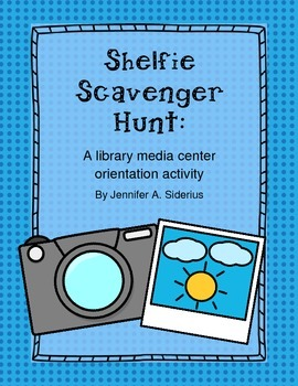 Shelfie Scavenger Hunt: a Library Media Center Orientation