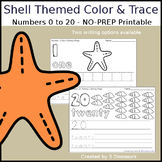 Shell Themed Number Color and Trace