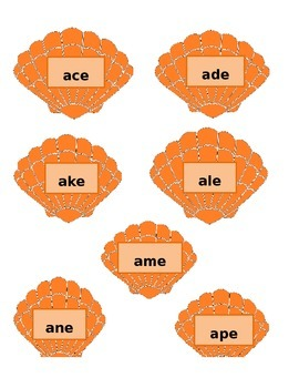Shell Word Families