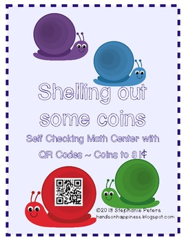 Shelling Out Some Coins ~ Self-Checking with QR Codes - Coins up to 81¢