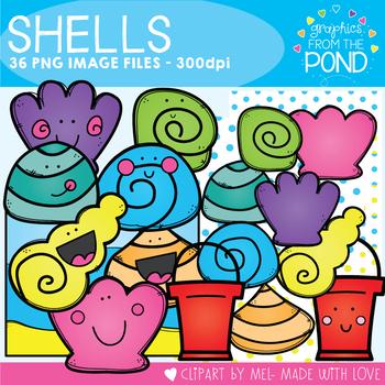 Shells Clipart Set