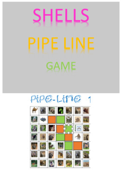 Shells Pipe Line Game