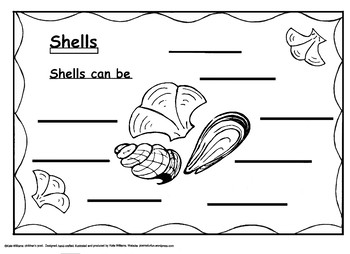 Shells can be...