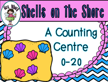 Shells on the Shore {A Counting Centre} Aussie Version
