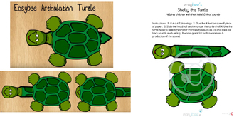 Shelly the Articulation Turtle