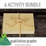 Qualitative Graphs 6 Activity Bundle