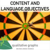 Language Objectives Qualitative Graphs