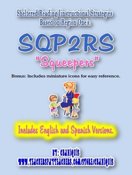 """Sheltered Reading Instruction SQP2RS """"Squeepers"""" Cards"""