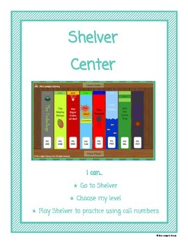 Shelver Library Center Sign