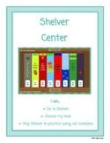 Shelver Library Center Sign