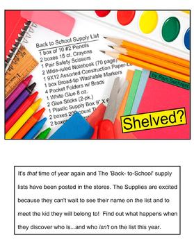 Back to School Funny Story-Play about School Supply Charac