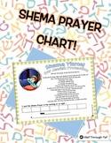 Shema Prayer Chart