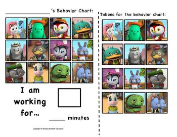 Sheriff Callie's Wild West Token Behavior Chart!