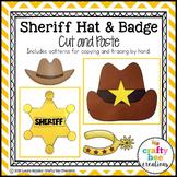 Sheriff Hat & Badge Craft   Wild West Craft   Wild West Activities