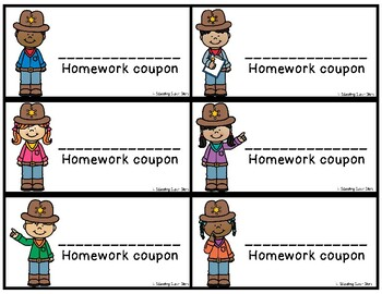 Sheriff Kids Homework Coupon Passes