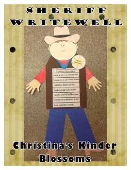 Sheriff WriteWell's Checklist Project