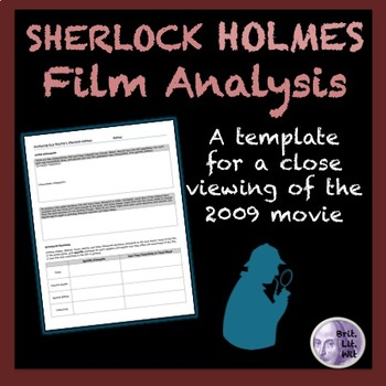 Sherlock Holmes (2009) Movie Analysis