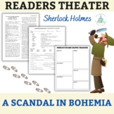 """Sherlock Holmes - """"A Scandal in Bohemia"""" One-Act Play, Que"""