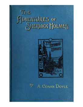 Sherlock Holmes, Adventure of the Speckled Band & the Scientific Method