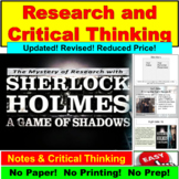 Sherlock Holmes: Critical Thinking and Reading PowerPoint