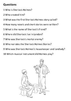 Sherlock Holmes Handout