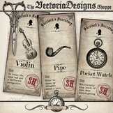Sherlock Holmes Inventory Labels