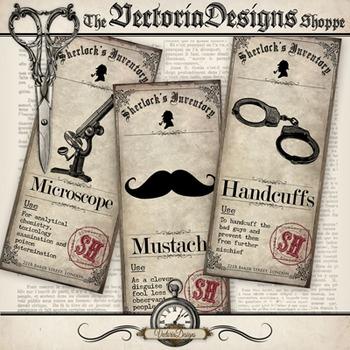 Sherlock Holmes Inventory Mini Posters