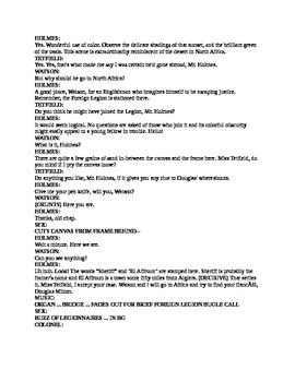 Drama - Sherlock Holmes Radio Drama - Murder in the Casbah