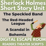 Sherlock Holmes - Short Story Unit - Readers Theater - Dig