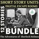 Sherlock Holmes Short Story Bundle - Readers Theater Script, Digital Breakout
