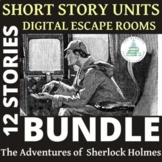 Adventures of Sherlock Holmes BUNDLE | Digital Escape Rooms | Readers Theater