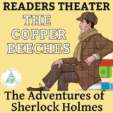 """Sherlock Holmes -""""The Copper Beeches"""" One-Act Play Script and Vocabulary Quiz"""