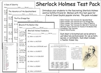 Sherlock Holmes Test Pack Improved