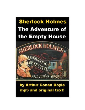 Sherlock Holmes - The Adventure of the Empty House story and mp3