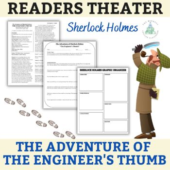 "Sherlock Holmes - ""The Adventure of the Engineer's Thumb"" - Readers Theater. YA"
