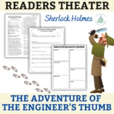 """Sherlock Holmes - """"The Adventure of the Engineer's Thumb""""-Readers Theater Script"""