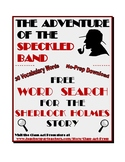"Sherlock Holmes: ""The Adventure of the Speckled Band"" Word"