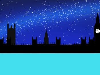 Sherlock Holmes Theme PowerPoint (Turquoise)