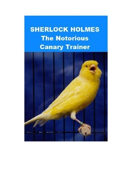 Sherlock Holmes mp3 - The Notorious Canary Trainer