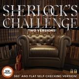 Middle or High School Digital Escape: Sherlock's Challenge
