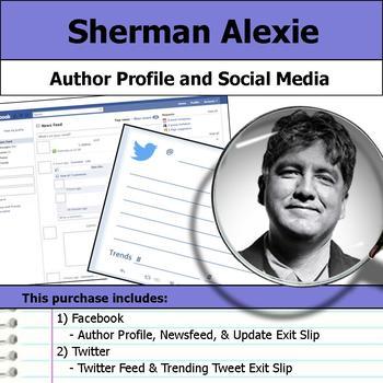 Sherman Alexie - Author Study - Profile and Social Media