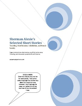 Sherman Alexie Selected Short Stories: Traveling, Fixed Income, etc.
