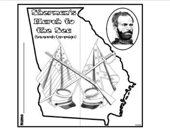 Sherman's March to the Sea American Civil War