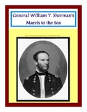 Sherman's March to the Sea - File Folder Center and Worksh